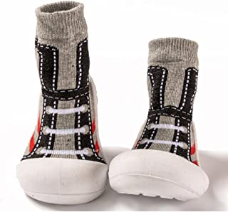 Child Cotton Socks Indoor Walking Shoes for Girls and Boys