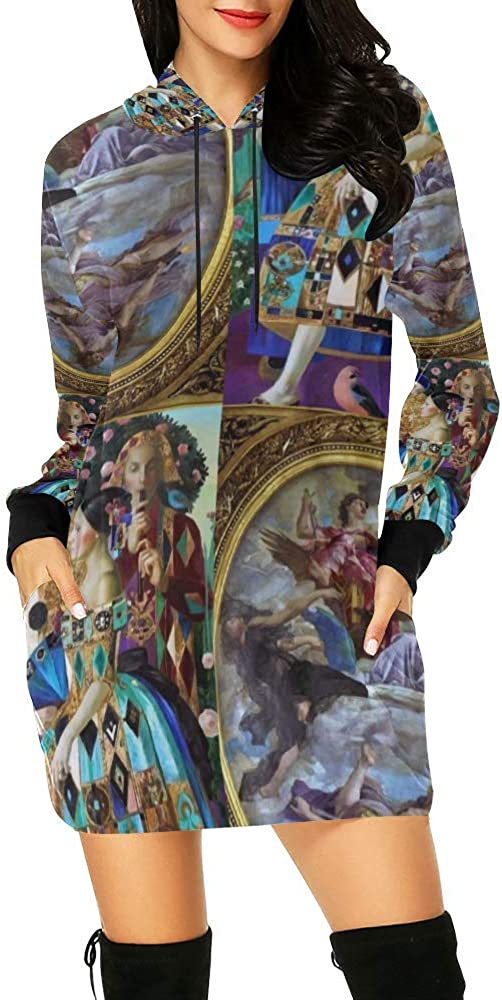 Hoodie Mini Dress For Women Heavenly Discount In a popularity is also underway Colorful Queens Streetwear