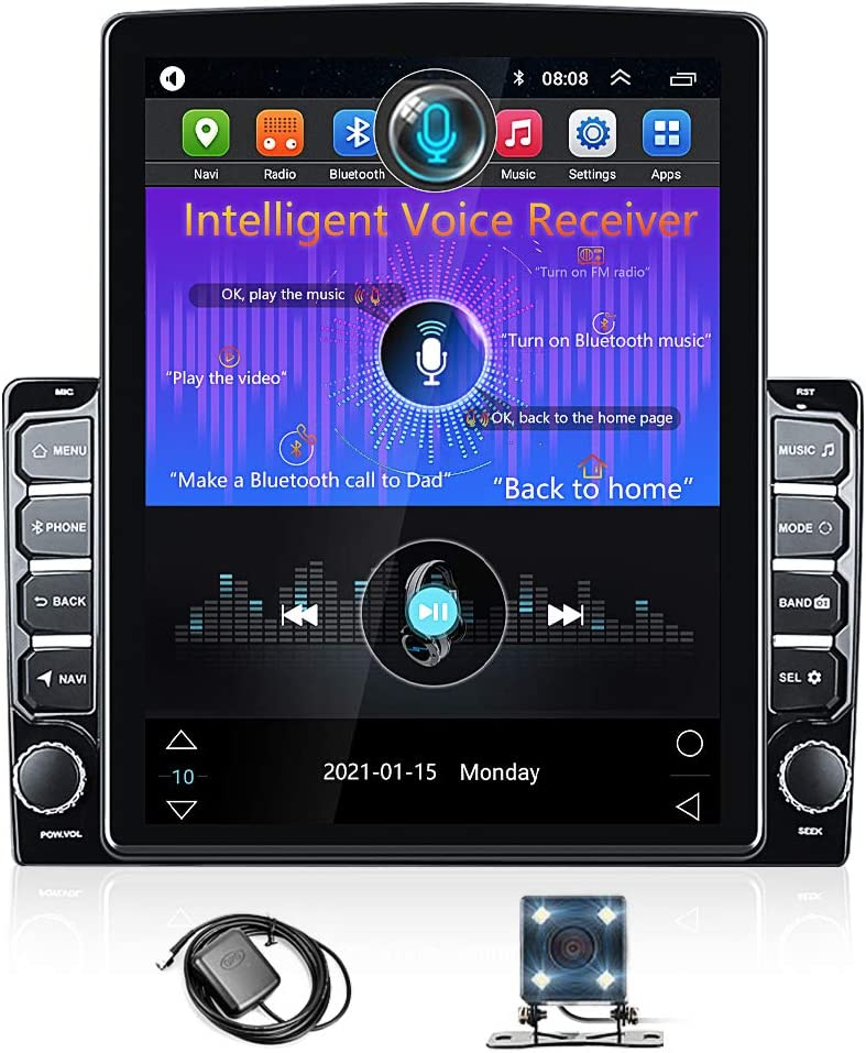 Android Double Din Car Radio GPS Navigation with NEXAI Intelligent Voice 9.7