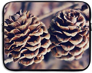 Pinecone Botany Funny Art Laptop Storage Bag - Portable Waterproof Laptop Case Briefcase Sleeve Bags Cover