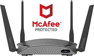 D-Link DIR-1960 - EXO AC1900 Mesh Enabled Smart Wi-Fi Router with McAfee Anti Virus Protection(Black, Not a Modem) - Buy D-Link DIR-1960 - EXO AC1900 Mesh Enabled Smart Wi-Fi Router with McAfee Anti Virus Protection(Black, Not a Modem) Online at Low Price in India - Amazon.in