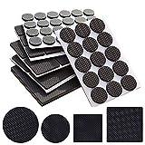 156 piezas de almohadillas de pies ligeras antideslizantes para muebles,Alfombrillas antideslizantes...