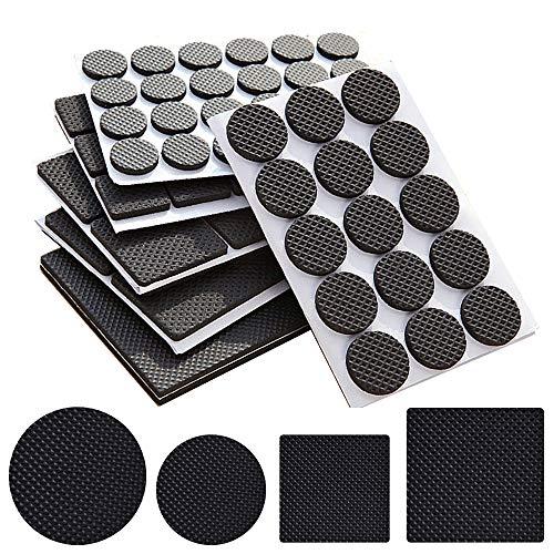 156 piezas de almohadillas de pies ligeras antideslizantes para muebles,Alfombrillas...
