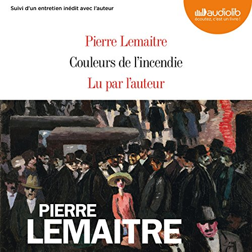 Couleurs de l'incendie audiobook cover art