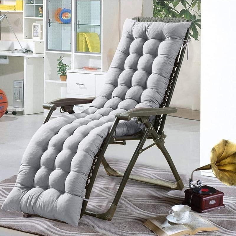 Longshow Recliner Cushions Chaise Longue Cushion Rocking Chair Cushion Sofa Cushion Tatami Mat Window Mat Seat Cushion Resists UV