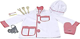 Melissa and Doug Chef Role Play Costume Set - Pretend Play