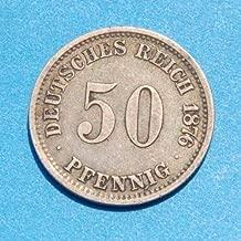 1876 DE Coin Pfennig Very Good