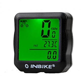 HCDjgh Bicycle Lights Front and Rear Rechargeable Solar,Waterproof Backlight Cycling Computer Odometer Speedometer Code Table ღLights Reflectors