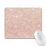 Professional Gaming Mouse Pad, Personalized Durable Non Slip Mouse Mat, Computer Desk Stationery Accessories Mouse Pads for Gift - Glitter