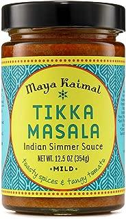Maya Kaimal Tikka Masala Indian Simmer Sauce, 12.5 Ounce, Mild