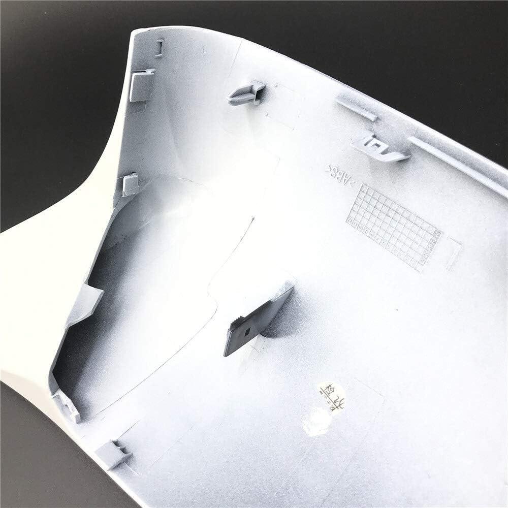 2014-2020 1 Paar Ersatz-Carbon-Spiegel-Abdeckung for BMW X5 G05 X6 G06 X3 G01 X4 G02 ABS-Spiegel-Abdeckung X5 F15 X6 F16 X3 F25 F26 Color : 14 18 X3 F25 Black