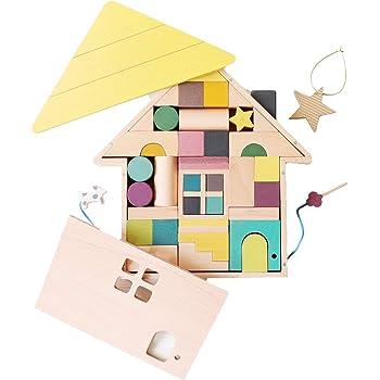 gg* (ジジ) tsumiki (おまけつき) 積み木セット 木製 積み木 音 おもちゃ 知育玩具 ( 1歳 / 2歳 / 3歳 ) 男の子 女の子 誕生日 プレゼント