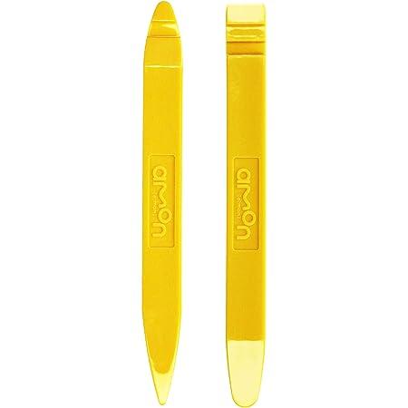 エーモン パネルはがし 黄色樹脂製・2本組 全長約150mm・幅約15mm 厚さ5mm 1498