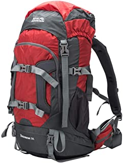 ROYAL MOUNTAIN 50L Hiking Backpack, Water-Resistant Outdoor Sports Daypack for Travel Adventure Camping Climbing Trekking