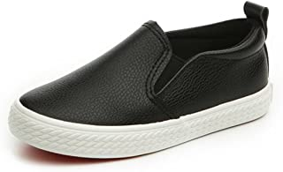 Bumud Boy's Girl's Slip-on Loafers Oxford Shoes(Toddler/Little Kid)