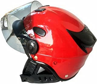 Kart Trade Aeroh Unisex Urban Half Face Helmet, Medium (Red)