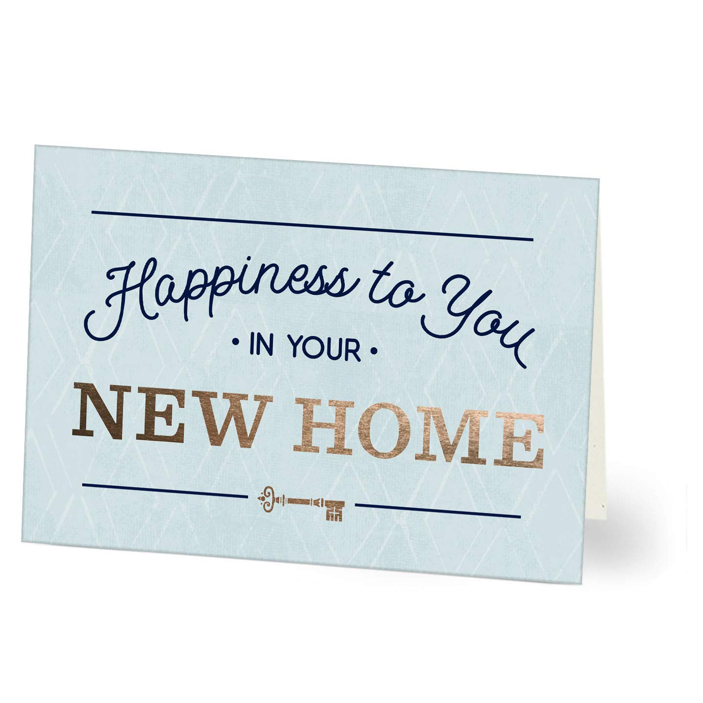 Amazon Com Hallmark Business Congrats New Home Cards For Realtors Real Estate Agents Insurance Agents And Bankers Happiness To You Pack Of 25 Greeting Cards Office Products