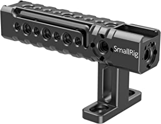 SMALLRIG Camera Top Handle Handgrip with Shoe Mounts and Mounting Points for Video Camera Cages LED Lights Microphones - 1984