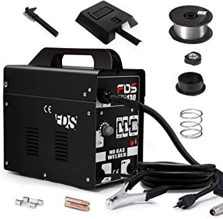 Goplus MIG 130 Welder AC Flux Core Wire Automatic Feed Welder Welding Machine w/Free Mask..