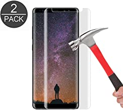 Galaxy Note 8 Tempered Glass Screen Protector, AUSURE [9H-Hardness] [HD Clear] [Bubble-Free] [Anti-Scratch] [Anti-Fingerprint] Tempered Glass Screen Protector for Samsung Galaxy Note 8 (2 Pack)