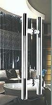 Glazen Deurkruk - RVS Schuifdeur Handvat Pijp Diameter 38mm, Voor Houten Deur/Schuurdeur/Aluminium Legering Deur, Zilver-6...