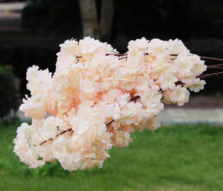 encuentra tu favorito aquí Flor de simulación 1 Unidades de Cerezo Cerezo Cerezo en Flor de Seda de Alta simulación decoración de la Boda Hotel casa Bar decoración B  marca