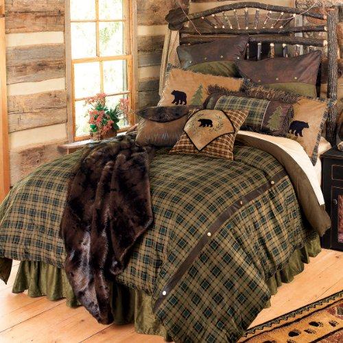 Best Buy! Black Forest Décor Alpine Bear Bed Set - King