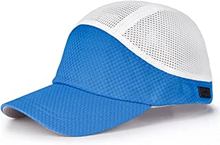 LPKH Sun Hat Outdoor Riding Mesh Breathable Baseball Cap Outdoor Sports UV Protection Visor,Unisex hat (Color : Royal Blue)