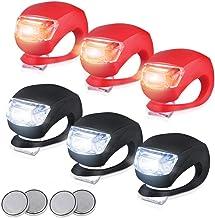 Sayla LED Lampe LichtKinderwagen Licht Kinderwagen Sicherheitslicht Leuchte Kinderwagen Taschenlampe für alle Kinderwagen Bergsteiger Kinderwagen,Fahrrad-Rückleuchten Frosch Lampe