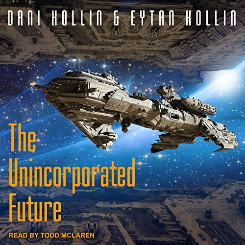 The Unincorporated Future audiobook cover art