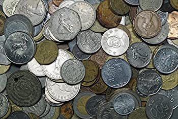 2 Pound World Coin Grab Bag Appox 150-180 Coins Good Mix of Countries & Sizes