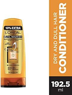 L'Oreal Paris 6 Oil Nourish Conditioner, 175ml (With 10% Extra)