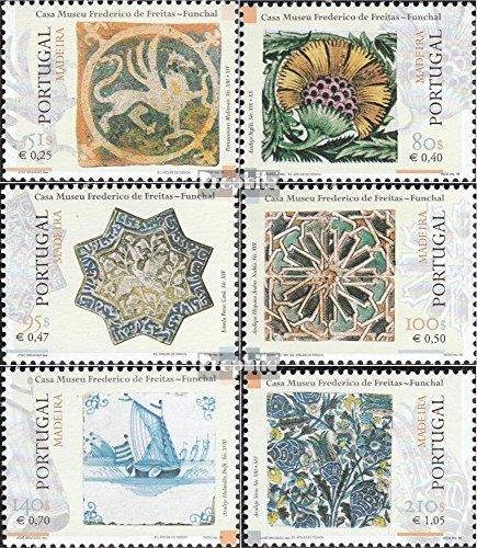 Prophila Collection Madeira (Portugal) 198-203 (kompl.Ausg.) 1999 Kacheln aus Museum (Briefmarken für Sammler)