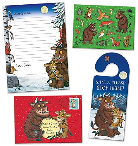 Paper Projects- The Gruffalo 's Child - Pack de Cartas de Navidad a Papá Noel con Colgador para Puerta (01.70.40.001)