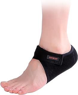 Aider Heel Pad for Plantar Fasciitis Heel Support Brace Relieve Pain Type 2 (Left)