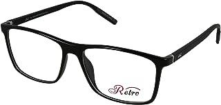 RETRO Unisex-adult Spectacle Frames Square 5501 S.Black