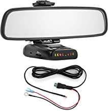 Radar Mount Mirror Mount Bracket + Direct Wire Power Cord for Uniden DFR (3001209) photo