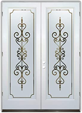 Glass Front Entry Door Sans Soucie Art Glass Carmona