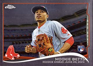 2014 Topps Chrome Update Mega Box Baseball #MB-46 Mookie Betts Rookie Debut Card - Near Mint to Mint