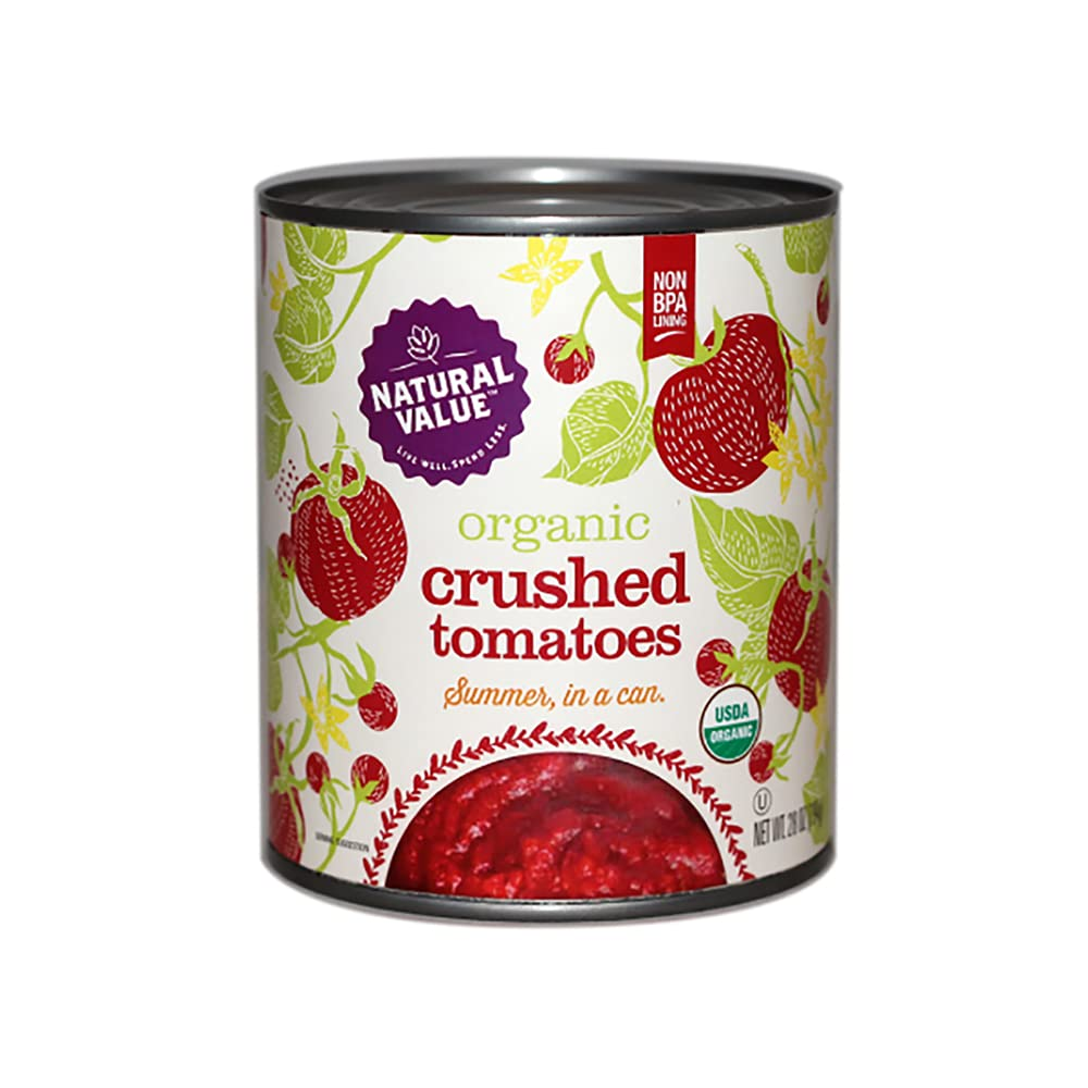 Natural Now on sale Value 28-oz. Organic Popularity 6-pack Tomatoes CRUSHED