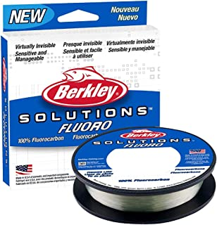 Berkley Solutions - Línea de Pesca, Transparente (Todos los Modelos y tamaños)