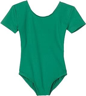 Danskin Girls' Basic Short Sleeve Leotard