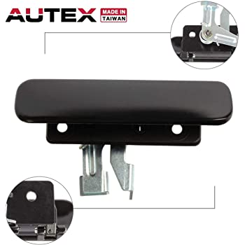 APPH4009 A Plus Parts House 1//4 Outside Door Handle Black Rivets Compatible with Ford 388047-S102 15pc