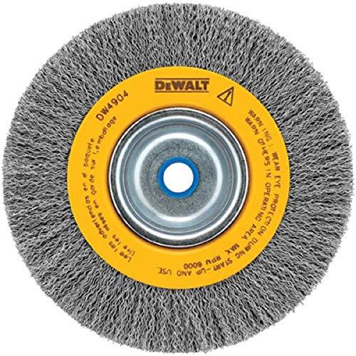 DEWALT Wire Wheel, Crimped, 6-Inch (DW4904)