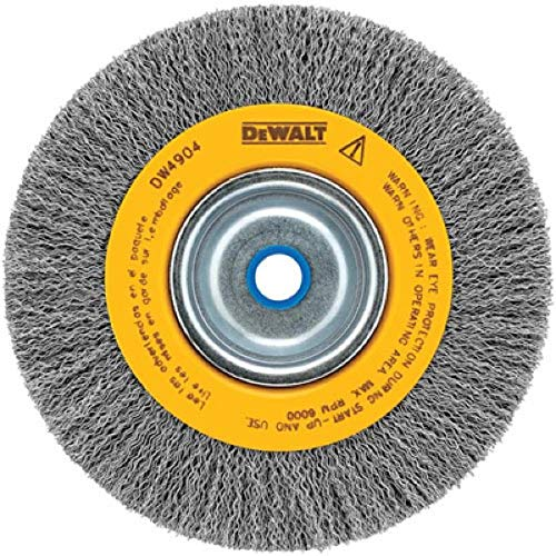 DEWALT Wire Wheel, Crimped, 6-Inch (DW4904)