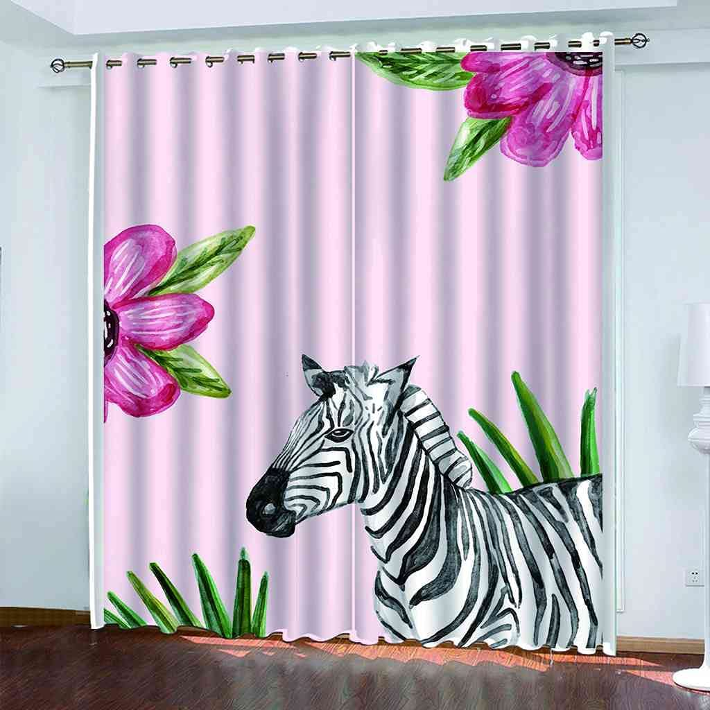 5 ☆ very popular RIFTWP Window Drapes for Bedroom Living Tampa Mall Blackout Room Printed 3D
