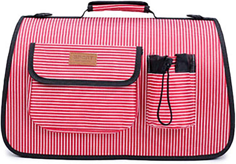 Pet Bag Shoulder Bag Portable pet Bag Travel pet Bag Car pet Bag Passion fruit Breathable