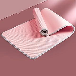Halksäker matta fitness Pilates gym träningsmatta matta matta med bandagematta 10MMPink