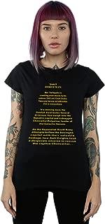 Star Wars Women's Revenge of The Sith Opening Crawl T-Shirt