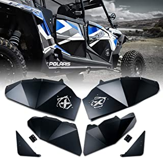 Xprite Complete Lower Door Insert Panels Kit for 4 Doors 2016-2019 Polaris RZR Turbo & 2017-2019 Polaris XP 1000
